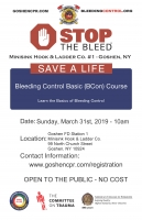 Basic Bleeding Control Course (BCon) - March 31st