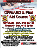 AHA Heartsaver CPR/AED & First Aid - August 18th