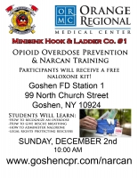 Opioid Overdose Rescue & Narcan - December 2nd