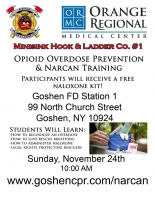Opioid Overdose Rescue & Narcan - November 24th