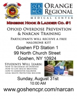 Opioid Overdose Rescue & Narcan - August 31st